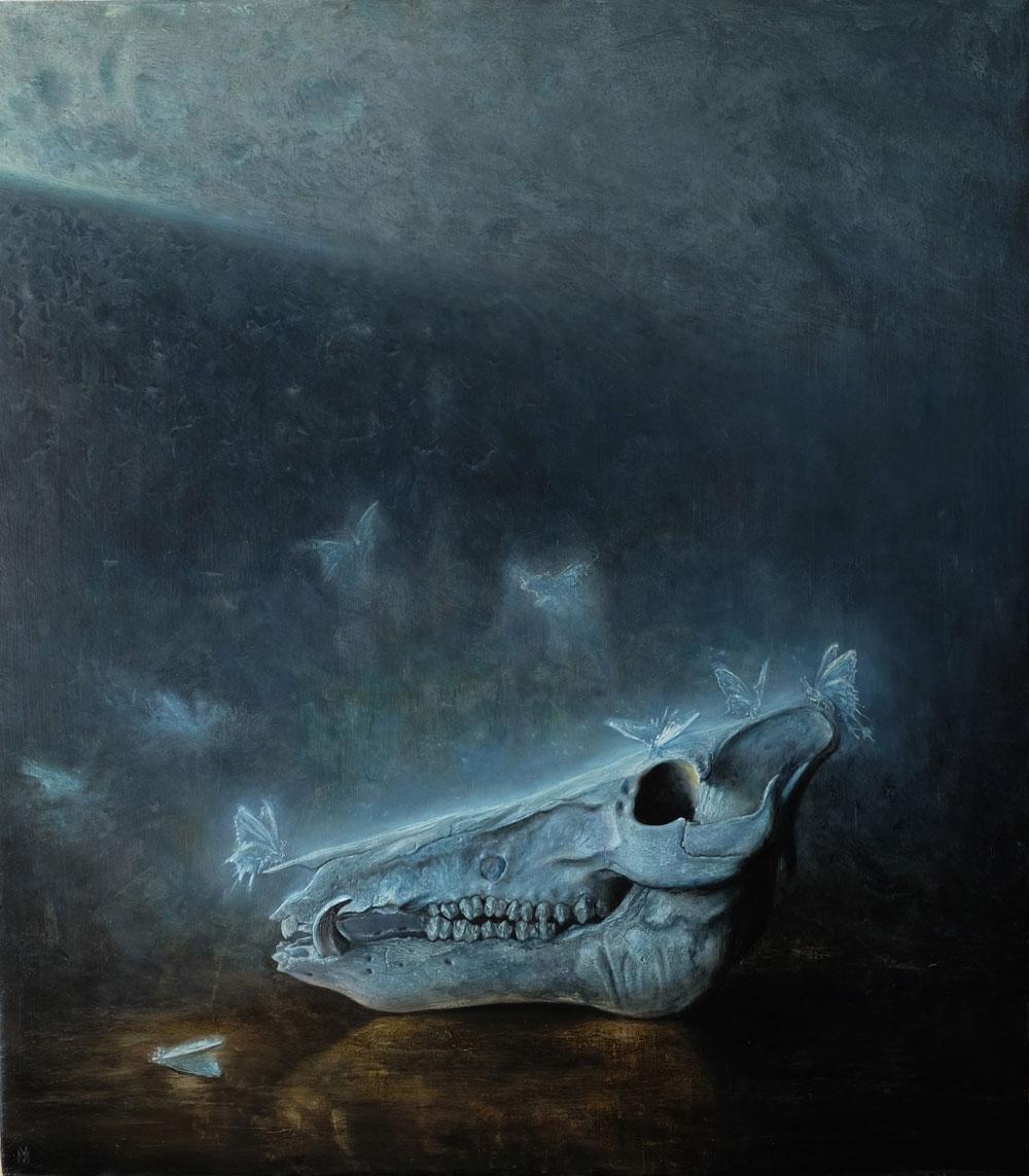 Öl auf Leinwand, 68 cm x 60 cm, 2017
