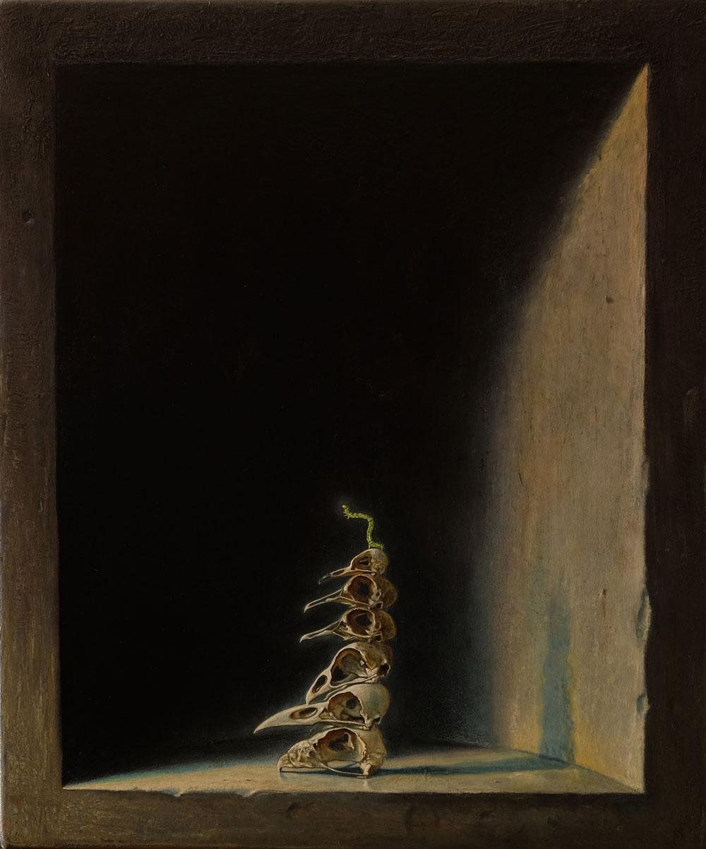 Öl auf Leinwand, 60 cm x 50 cm, 2017
