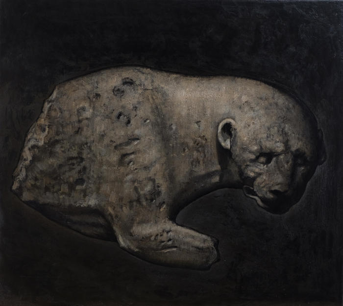 Öl auf Leinwand, 92 cm x 82 cm, 2018
