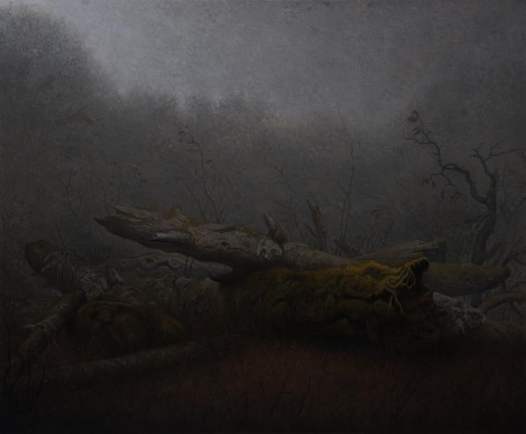 Öl auf Leinwand, jeweils 190 cm x 230 cm, 2018