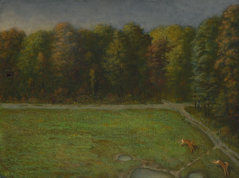 Öl auf Holz - 20,5 cm x 15 cm - 2019