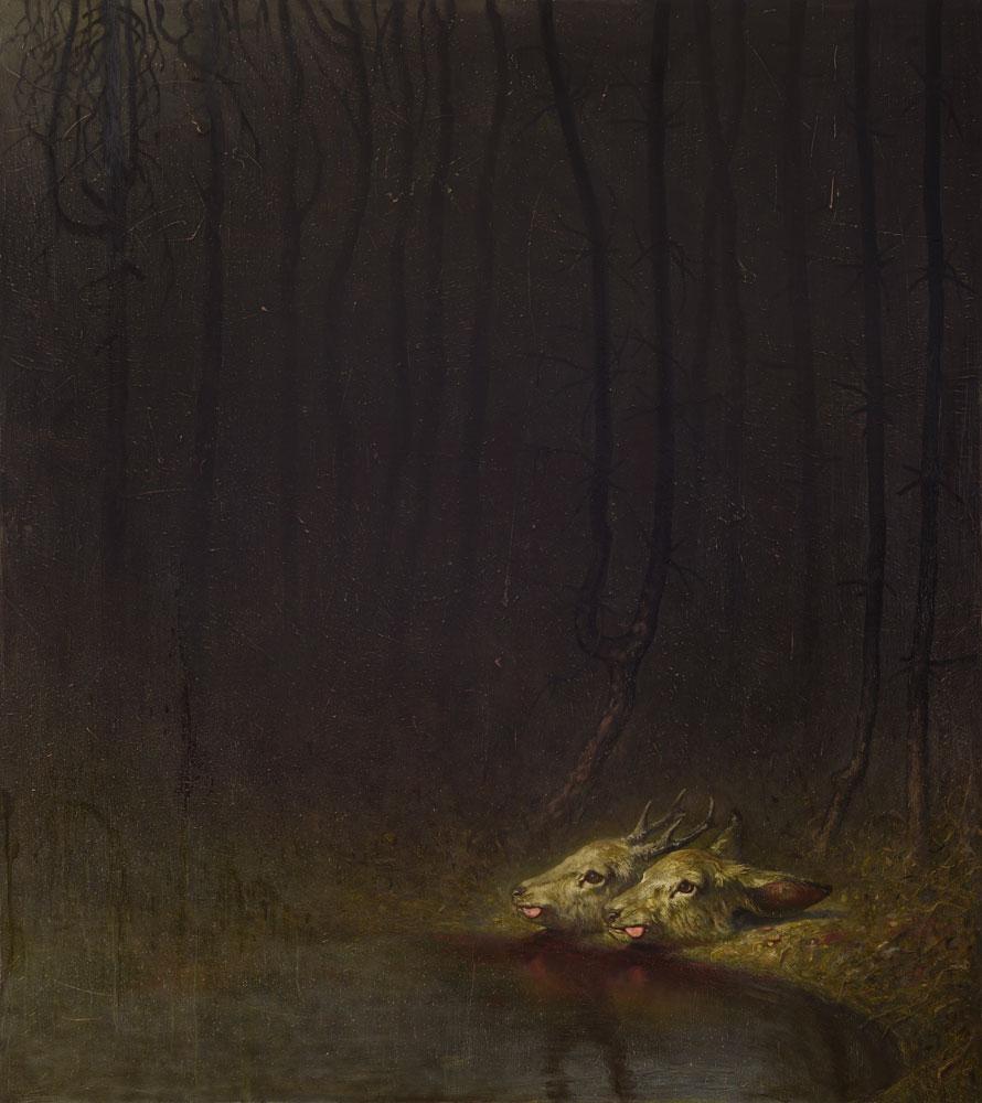 Öl auf Leinwand - 180 cm x 170 cm - 2020