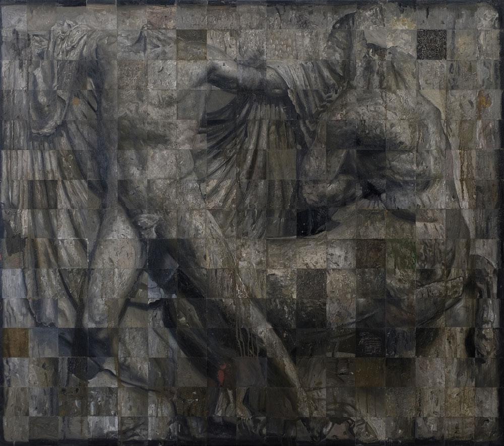 Öl auf Leinwand,170 cm x 150 cm, 2018