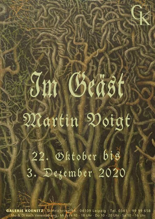 Im Geäst - Ausstellung Galerie Könitz